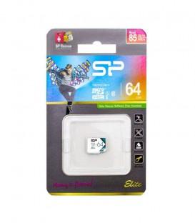 رم میکرو اس دی 64 گیگ بدون خشاب Silicon Power Elite color Class10