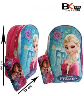 کیف مدرسه ای دخترانه دوتیکه عکس دار طرح پرنسس مقطع ابتدایی