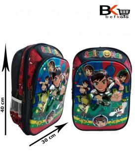 کیف مدرسه ای پسرانه طرح برجسته طلقی با طرح بِن تِن مقطع ابتدایی