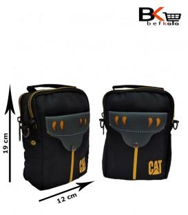 کیف 3 کاره مردانه دکمه دار برزنتی برند CAT پاوربانکی و مدارکی
