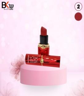 رژ لب جامد کیس بیوتی kiss beauty کد 2