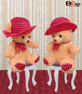 خرس عروسکی کلاه توپ توپی