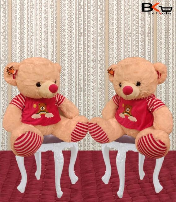 خرس عروسکی لباس صورتی