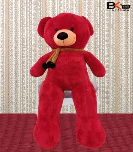 خرس عروسکی شال گردن دار قرمز