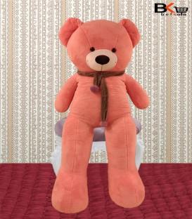 خرس عروسکی شال گردن دار صورتی