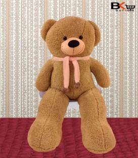 خرس عروسکی شال گردن دار نسکافه ای