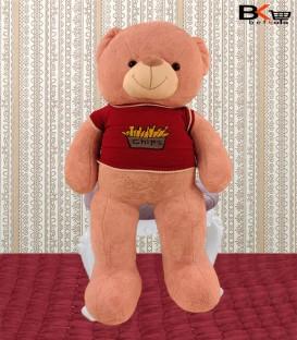 خرس عروسکی صورتی لباس دار
