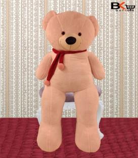خرس عروسکی صورتی شال گردن دار