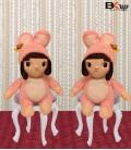 دختر عروسکی لباس خرگوشی