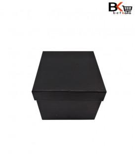 باکس کادویی مربعی دو طرفه مشکی