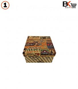 باکس کادویی مربعی کلاسیک