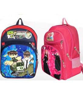 کیف مدرسه اى جادار 4 زیپه