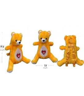 کیف بچه گانه عروسکی طرح خرس