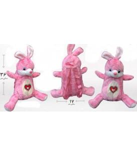 کیف بچه گانه عروسکی طرح خرگوش
