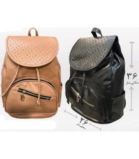 کیف کوله دخترانه 3 زیپ