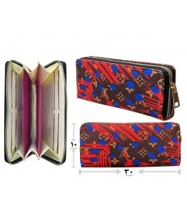 کیف پول دستی زنانه ترکیب رنگی