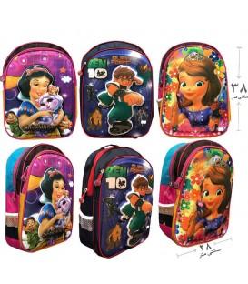 کیف مدرسه اى دوجیب پفکی