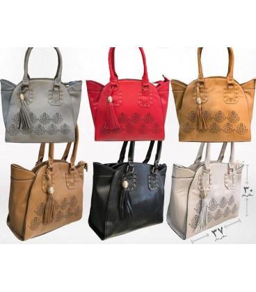کیف دستی زنانه طراحی شده رنگی