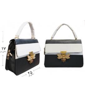 کیف دستی مجلسی زنانه قفل پروانه ای