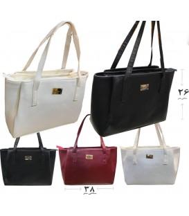 کیف دستی زنانه 3 زيپ