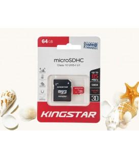رم میکرو 64 گیگ King Star UHS-I U1