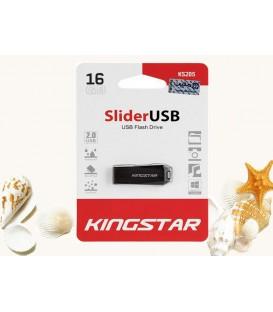 فلش مموری 16 گیگابایت کینگ استار مدل Slider USB 2.0 KS205