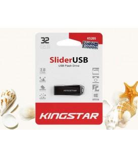 فلش مموری 32 گیگابایت کینگ استار مدل Slider USB 2.0 KS205