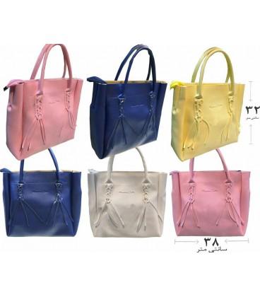 کیف دستی زنانه دو تیکه بسیار بزرگ Massimo Dutti
