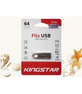 فلش مموری 64 گیگابایت کینگ استار مدل Flix USB2.0 KS220