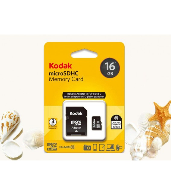رم میکرو اس دی 16 گیگ کداک Kodak Class10