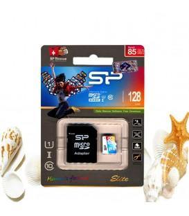 رم میکرو اس دی 128 گیگ Silicon Power Elite color Class10