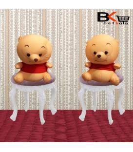 خرس عروسکی پولیشی زرد