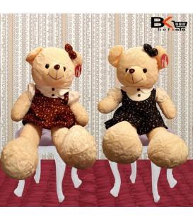 خرس عروسکی لباس سارافونی سایز بزرگ