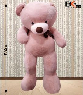 خرس عروسکی ۲ متر و نیمی پاپیون دار