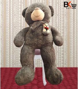 خرس عروسکی شالگردن دار