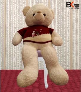 خرس عروسکی لباس بافتنی سایز بزرگ