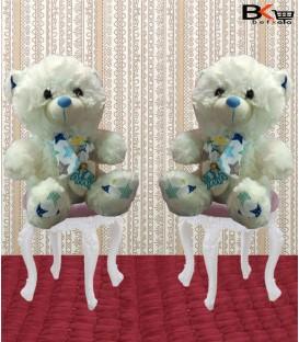 خرس عروسکی شال گردن دار Amo