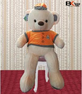 خرس عروسکی خیلی بزرگ کلاه دار