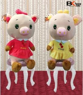 خوک عروسکی پاپیون دار