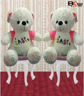 خرس عروسکی با لباس baby