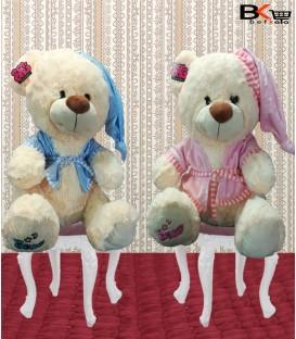خرس عروسکی با لباس خواب