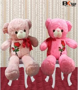 خرس عروسکی گل دار پاپیون دار