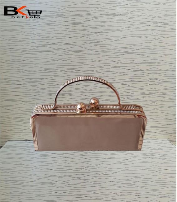 کیف مجلسی دهنه دار دسته دار مدل کتابی