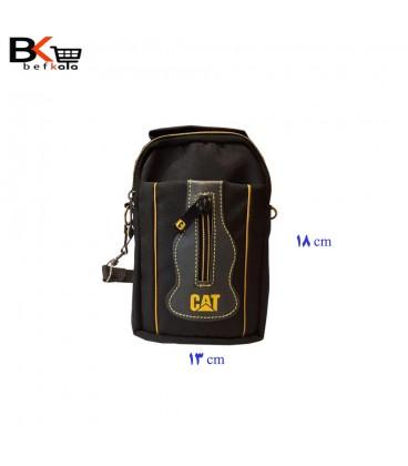 کیف دستی و رودوشی مردانه CAT برزنتی کوچک