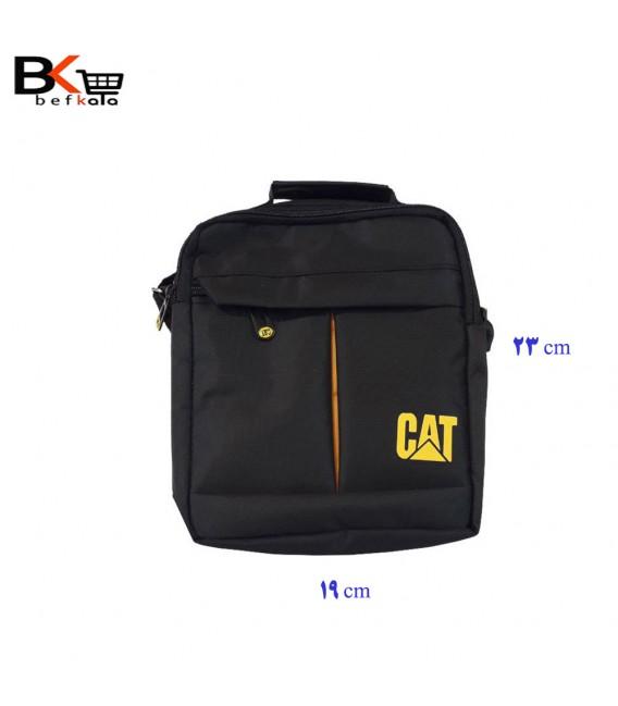 کیف رودوشی مردانه CAT برزنتی سایز متوسط