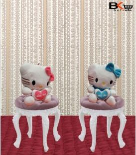 عروسک آویزی کیتی سایز کوچک