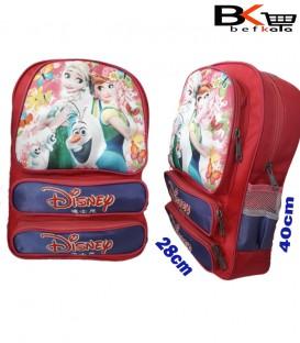 کیف مدرسه ای دخترانه طرح برجسته ابری جامدادی دار مقطع ابتدایی