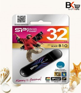فلش مموری 32 گیگابایت سیلیکون پاور مدل Blaze B10 USB 3.0