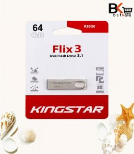 فلش مموری 64 گیگابایت کینگ استار مدل Flix 3 KS320