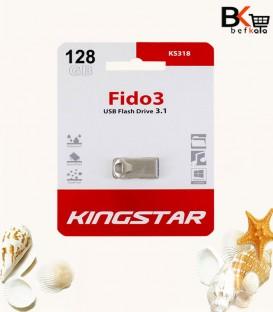فلش مموری 128 گیگابایت کینگ استار مدل Fido 3 KS318